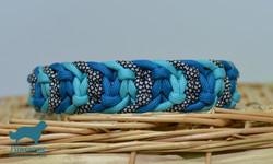 Halsband Jelly Belly blau