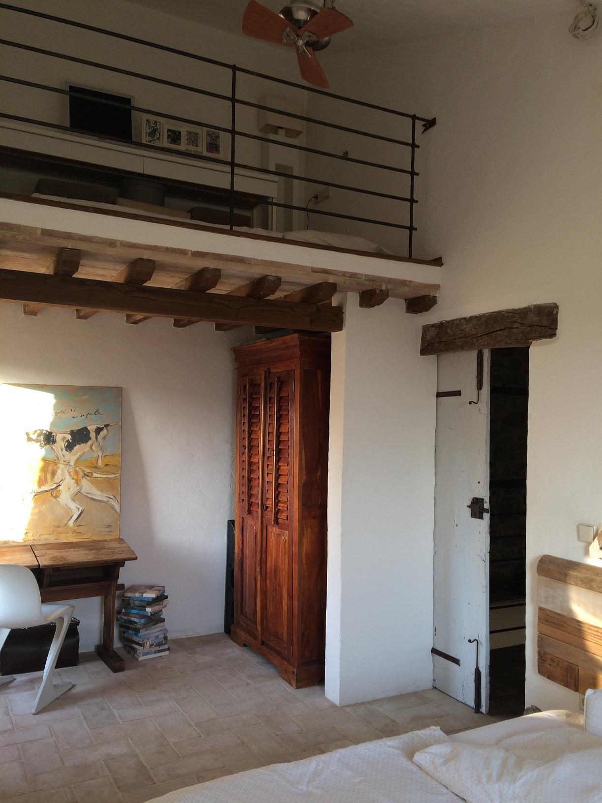 Schl afzimmer 2 mit Hochebene_Apartment Emilia