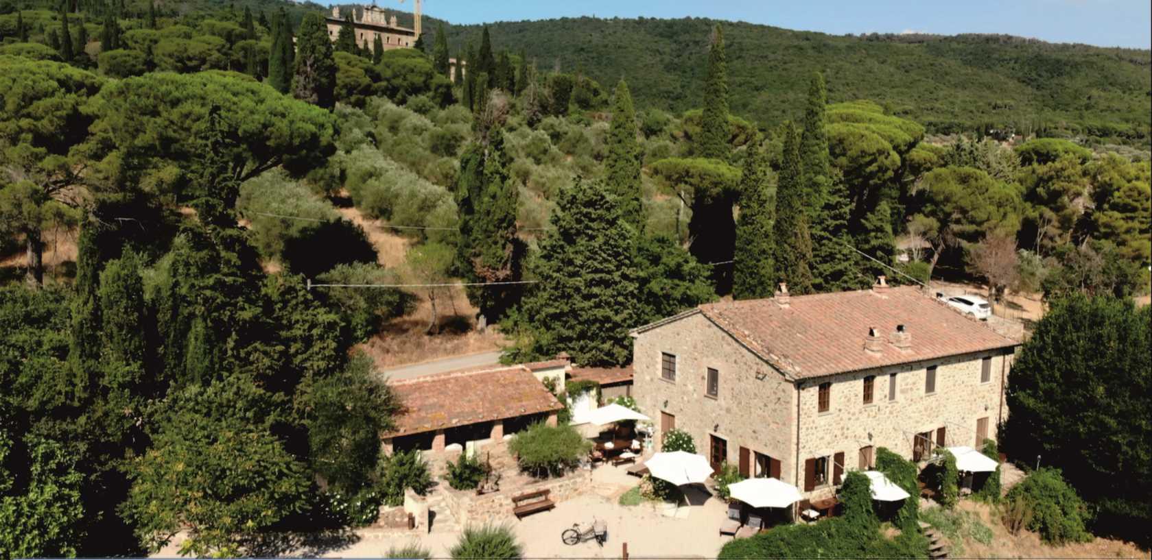Haus 4 mit Schloss