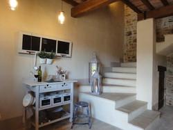 La Torretta 42_ Apartment GIULIA_Treppe in die 1.Etage