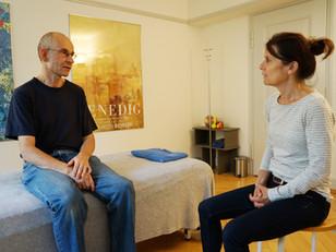 Therapeutisches Gespräch mit Klienten