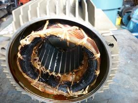 モーターの修理依頼で多いもの