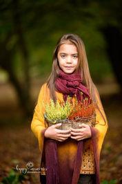 autumn portrait of a girl