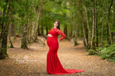 Plenerowa fotografia ciążowa