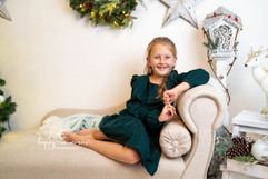 Christmas photo session Dorking
