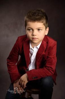 Elegant boy portrait