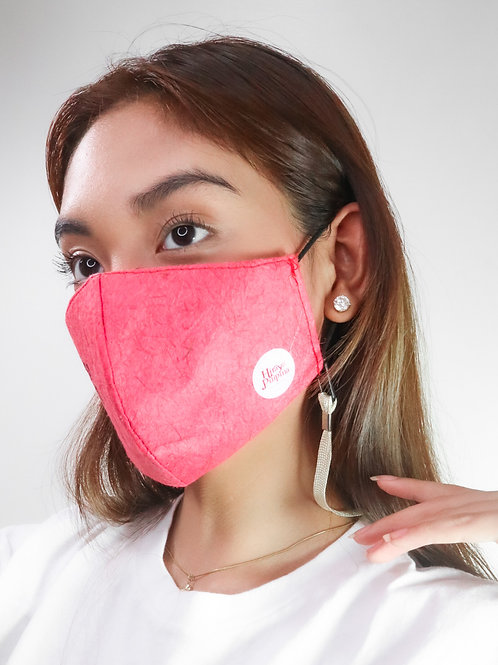 CHERRY ABACA FACE MASK