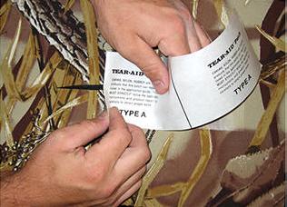 bladder repair tape, 1m