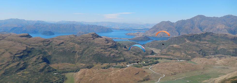 thermalling course at Treble Cone, Wanaka