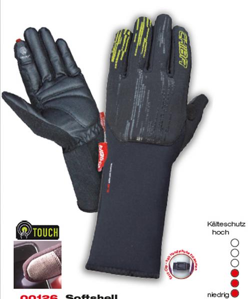 CHIBA Softshell gloves