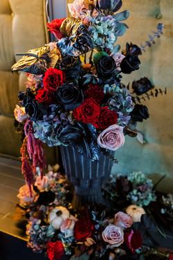 Spooky Floral Decor