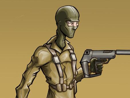 Pew Pew Spies - Sketchbook Pro 7/Sketchbook Mobile - SurfaceBook