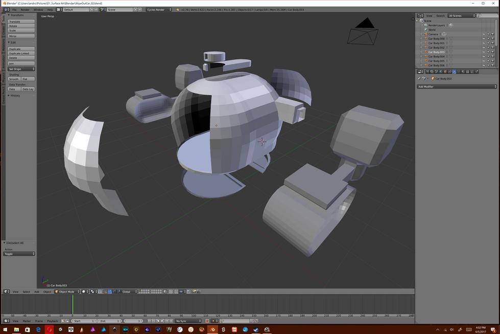 HoneyDew SpaceShip