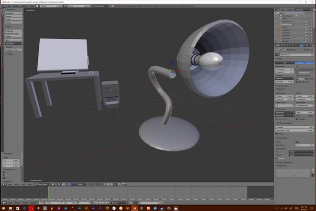 Lamp Construction