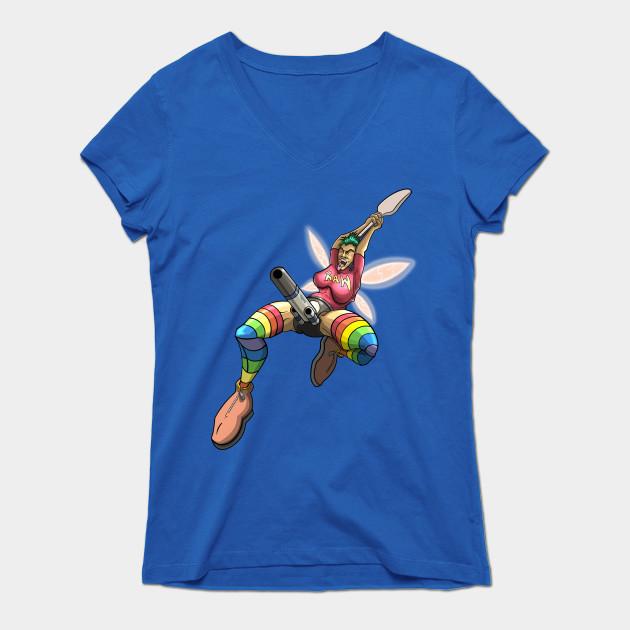 Queer Fairy_Female T-Shirt