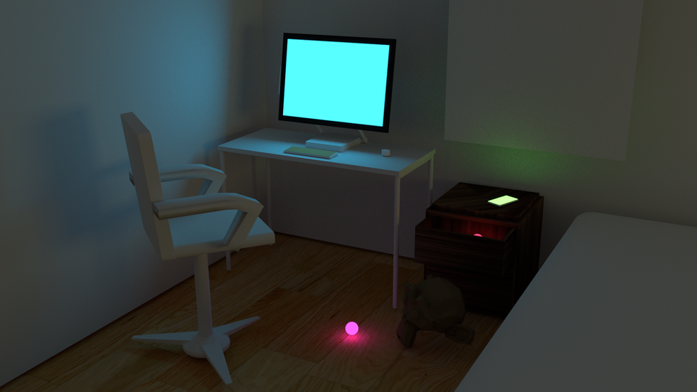 Blender Lighting Test_02