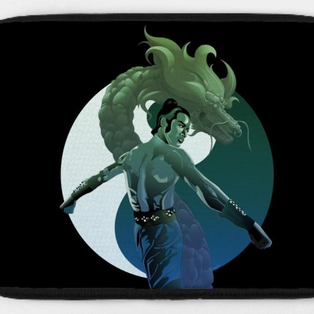 The Last Dragon_Laptop Case