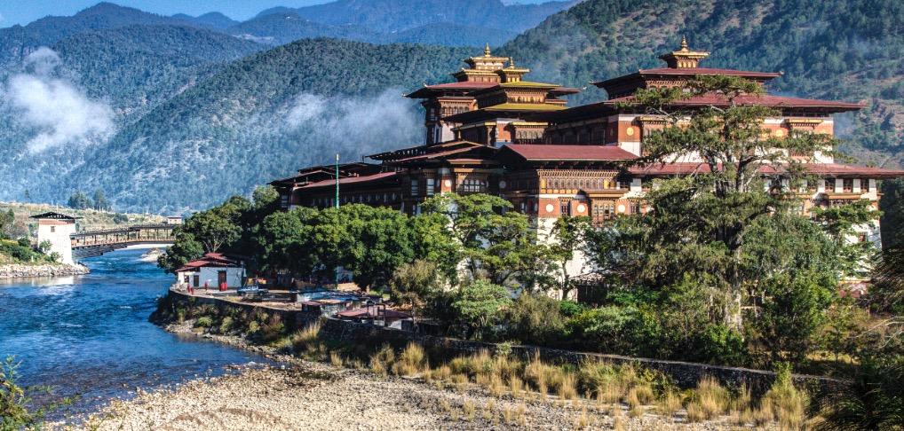 PUNAKHA MONASTMTERY IN BHUTAN 2015-8-28-9:54:12
