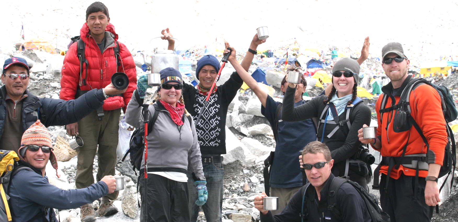 Everest Base Camp Celebration