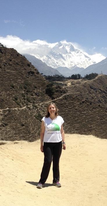 Heather in Nepal