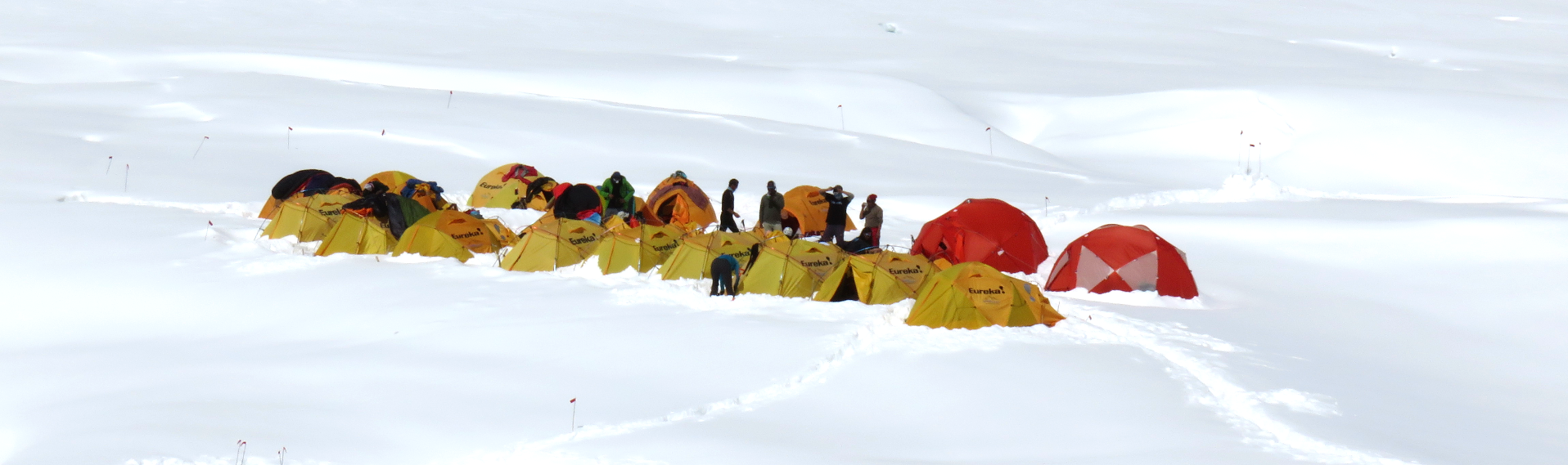 Camp One on Mt. Everest