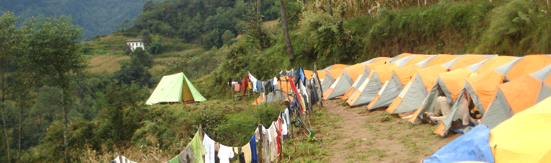 Camping Trek in Nepal