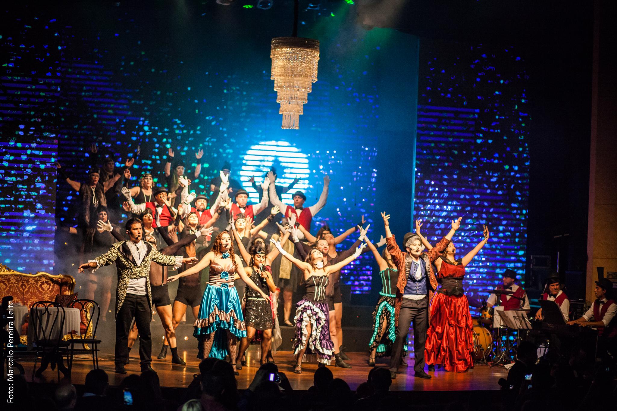 Tour com a peça Cabaret La Mour 2016