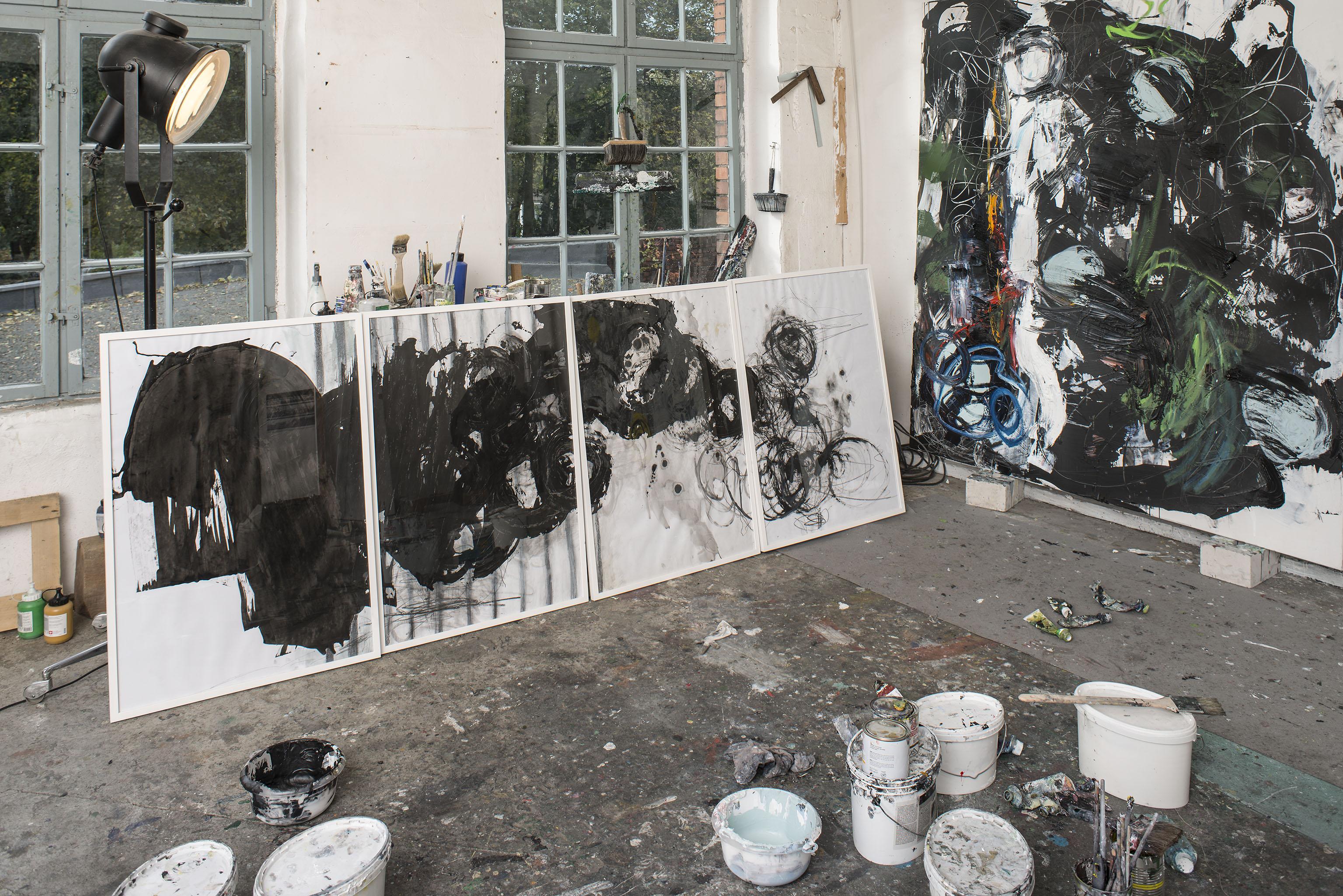 Atelier, Alte Lederfabrik, Berlin