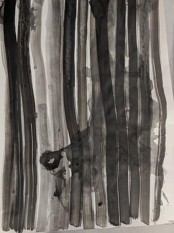 Tusche/Papier 100x70cm