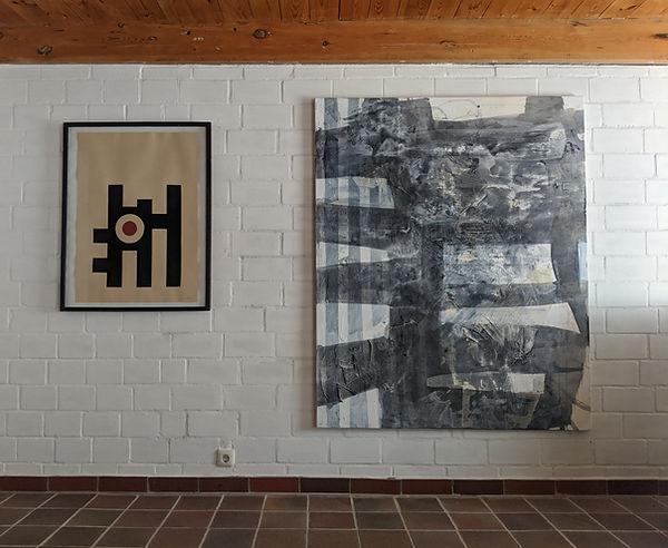 Kunstsammlung, Raumansicht mit Gemälde