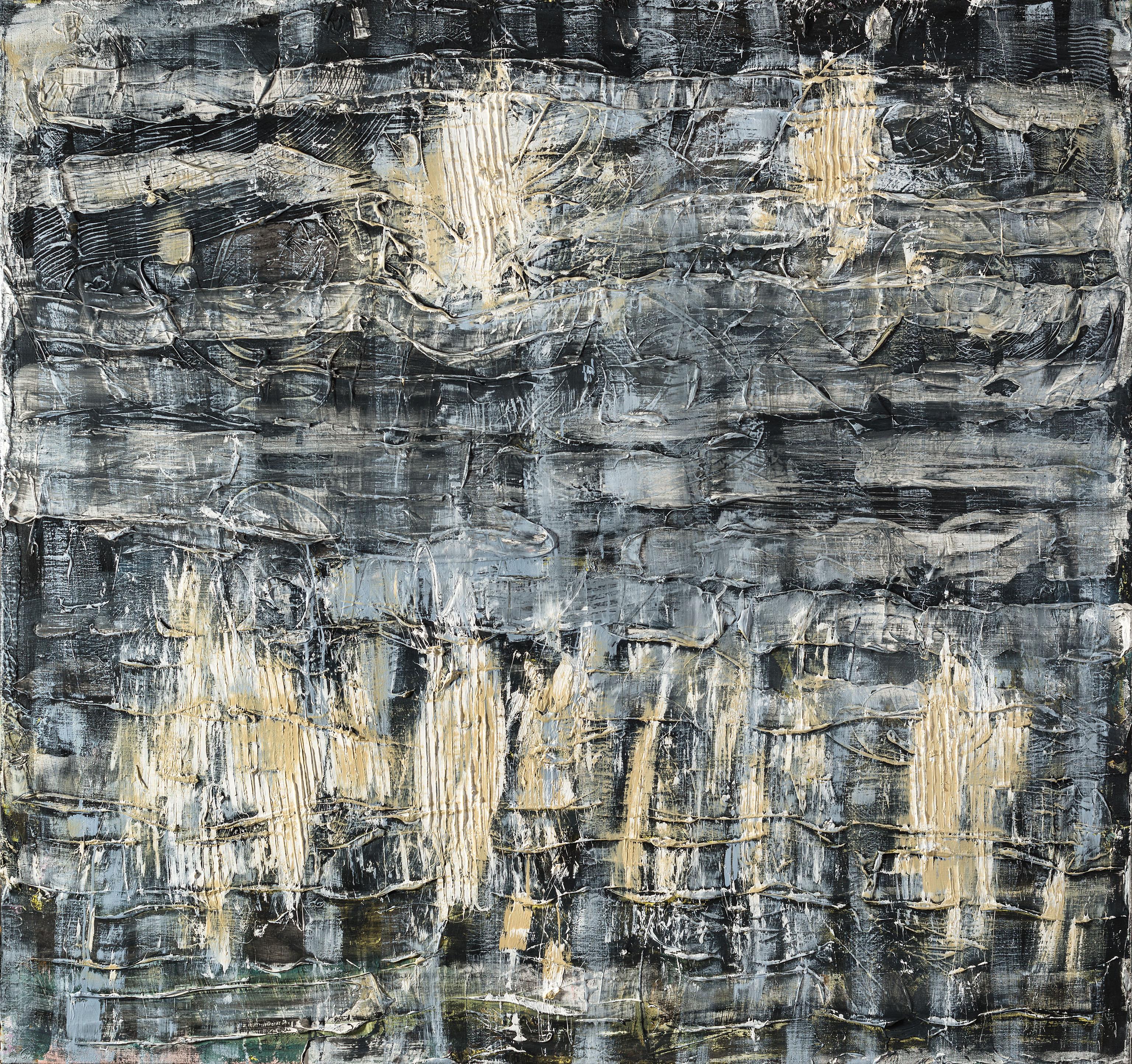 Sisyphoshaut 2015 Öl/Leinw. 180x190c