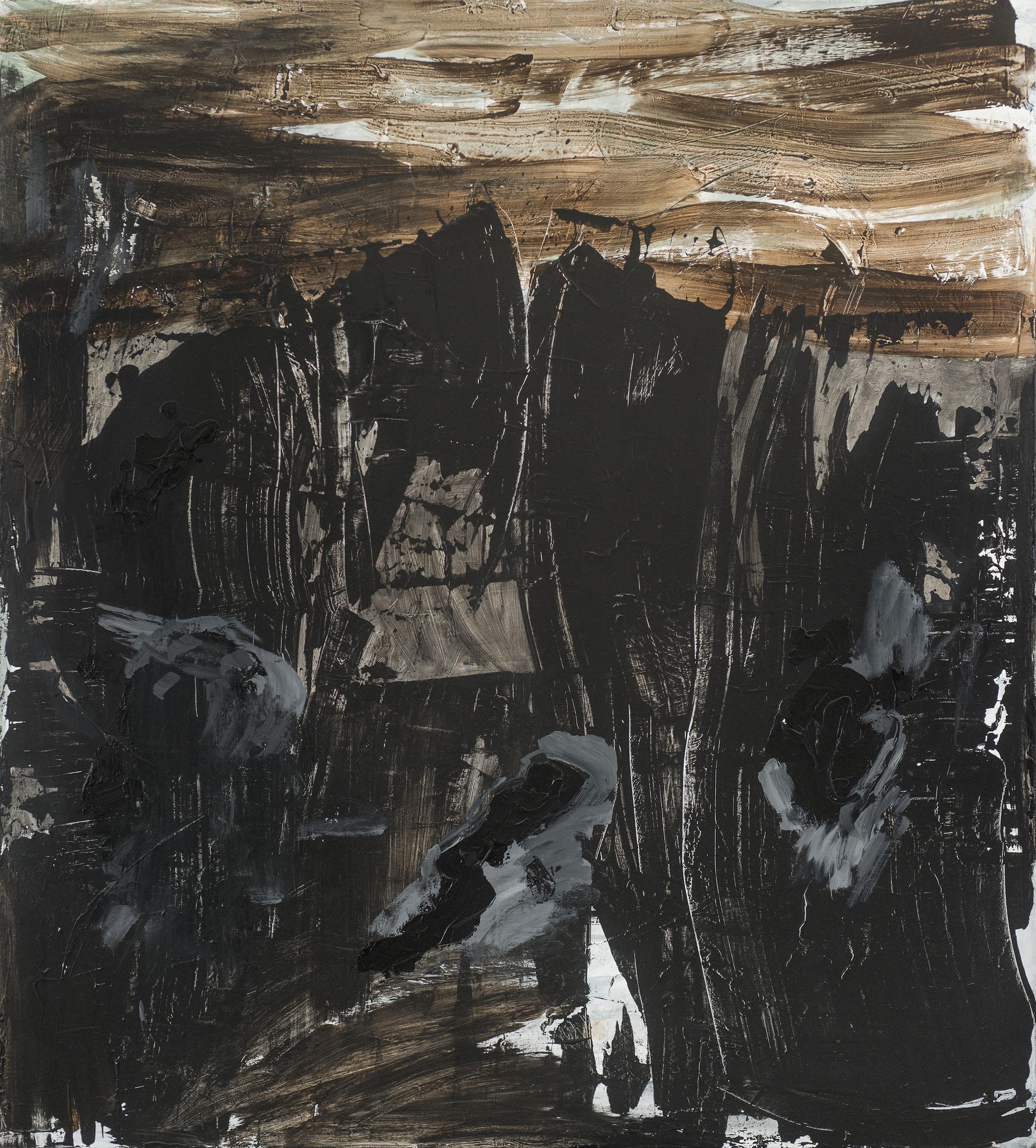 Shadows 2012 Acryl/Baumw. 210x190cm