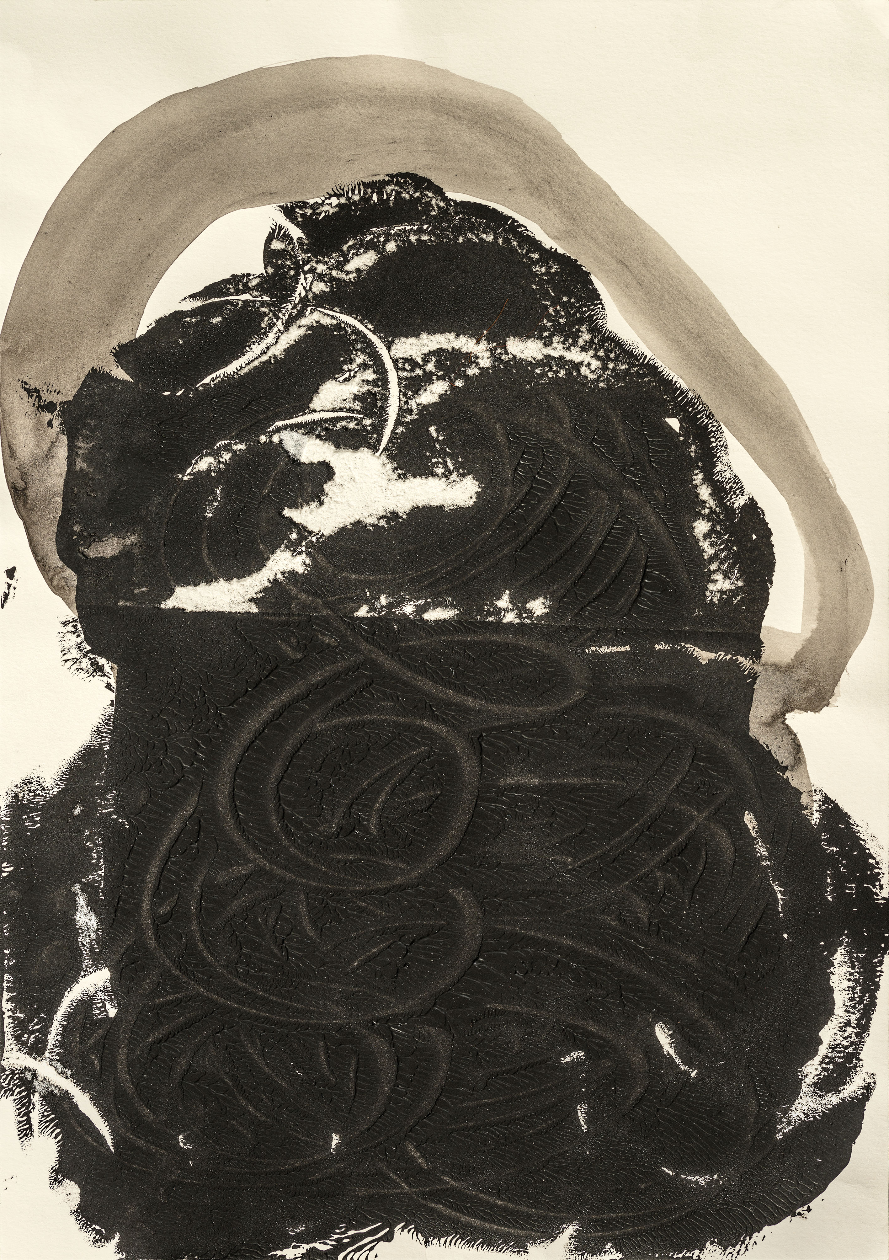 Kopfserie 2007 Tusche/Papier 42x29cm