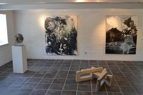 Ausstellungsansicht, Galerie Straedet 9