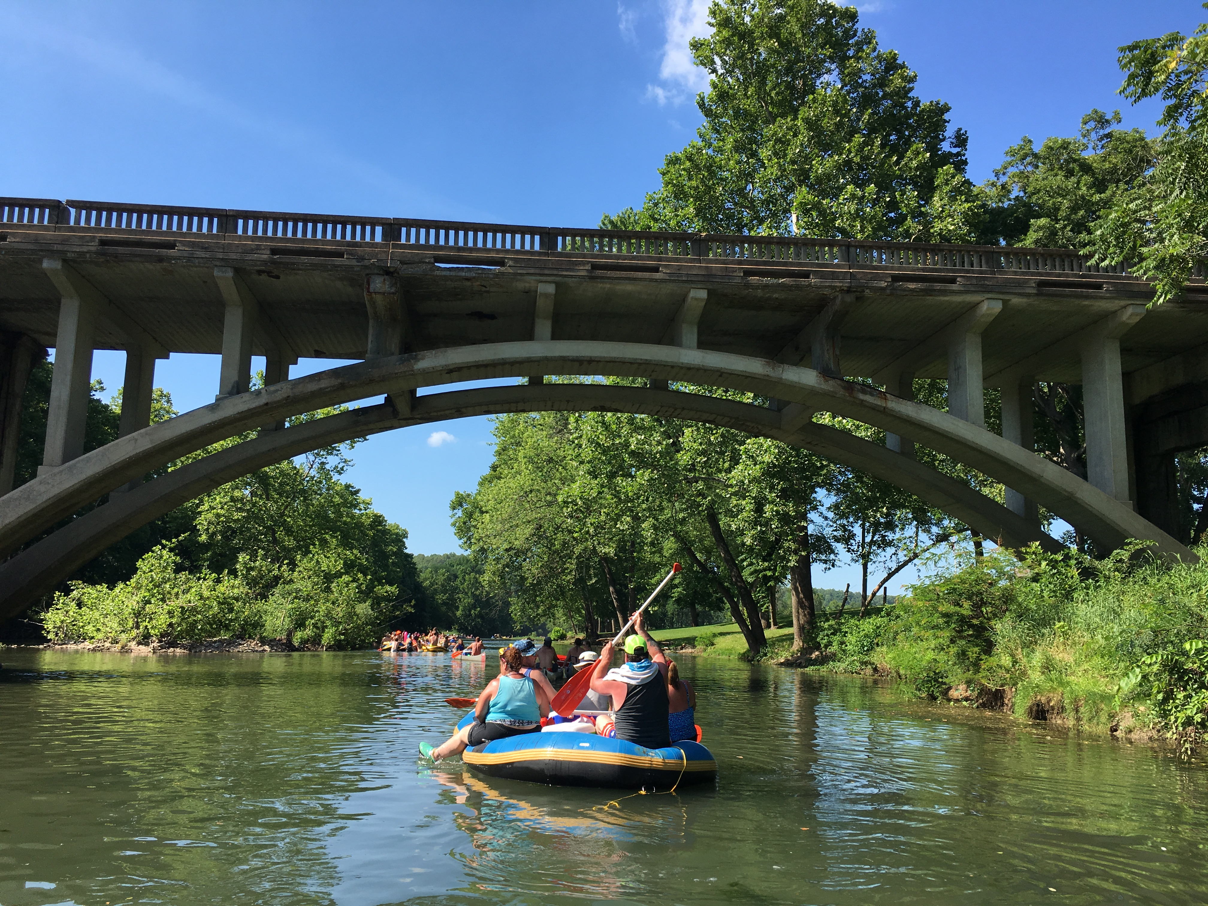 Floating on Niangua River