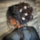 Textured bride 💍 #bridalhair #bridal #w