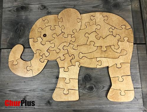 Elefantenbaby-Puzzle