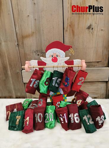 Weihnachtsmann-Adventskalender