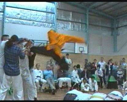 Flying Jumping Side Kick Over 5 People.j