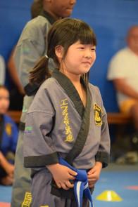 Asian girl martial arts