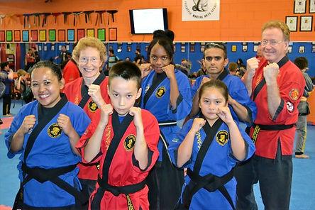 martial arts lightened