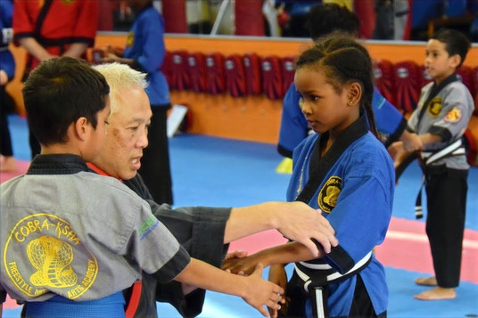 Kids Martial Arts African