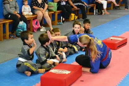 Kids Martial Arts High Five