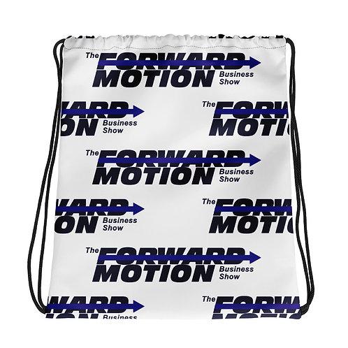 Forward Motion Drawstring bag