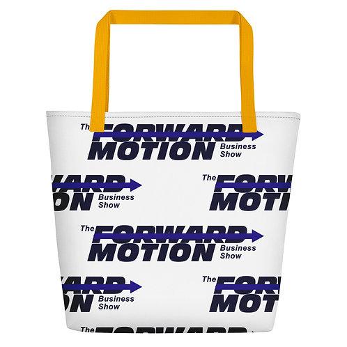 Forward Motion Beach Bag