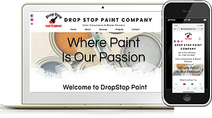 Drop Stop Paint Phone and Home Page eknl