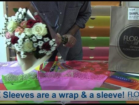 EZ Sleeve = Wrap+Sleeve+Outer Plastic Sleeve