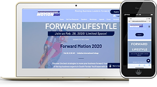 Forward Motion 2020 Phone and Website Wi