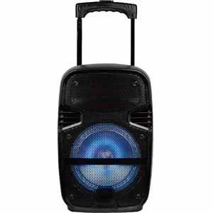 "Edison TRS-08B 8"" 50 Watt LED PA Bluetooth Speaker With Li-Ion Battery"