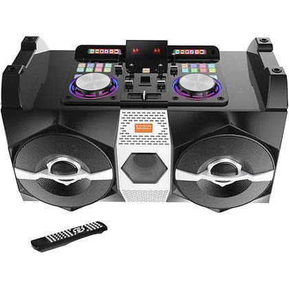 Professional DJ-1000 High Power DJ-Bluetooth Boom Box Britelite Edison